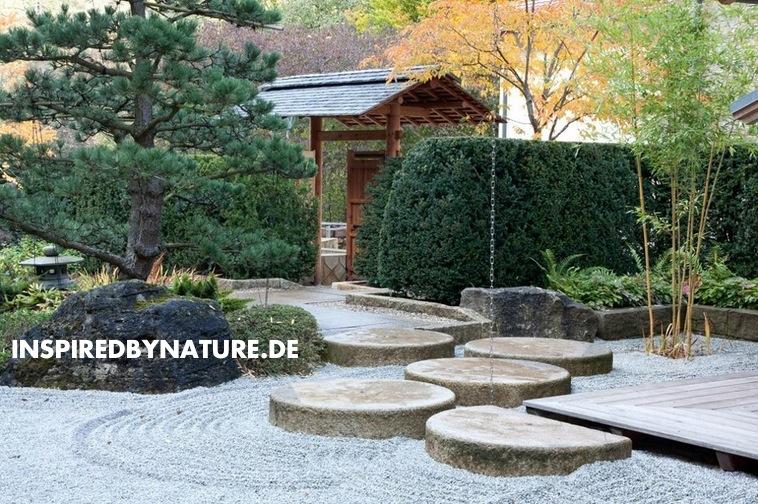 japanischer zen garten – spinjo, Terrassen ideen